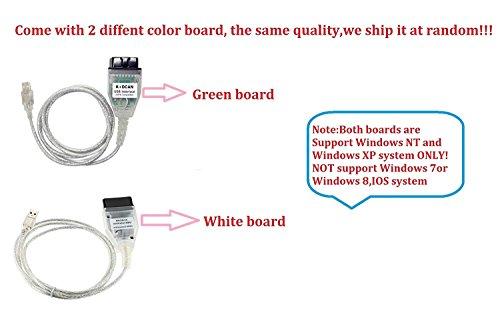 JahyShow for BMW INPA/Ediabas K+DCAN USB Interface TO