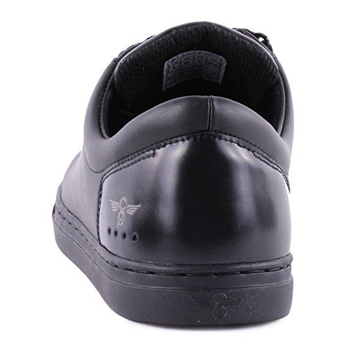 Sneaker Slip-on Creativo Ricreazione Mens Turino Nero / Metallico