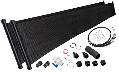 SET SUNSOLAR ENERGY TECHNOLOGIES 2-2'X20' SunQuest with Integrated Diverter Valve (2-2'X20' SunQuest Deluxe)