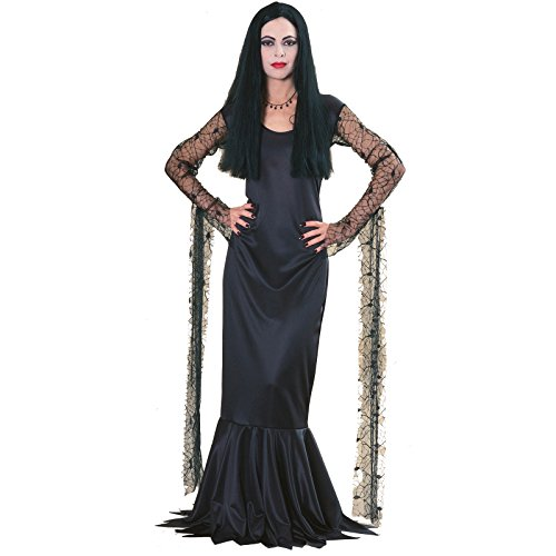Rubie's Women's The Addams Family Morticia Costume,