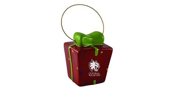 University of Denver-3D Ceramic Gift Box Ornament Inc LXG