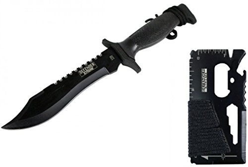 """12"""" Tactical Bowie Survival Hunting Knife w/ Sheath Military Combat Fixed Blade + MULTI-TOOL"""