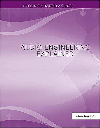 Audio engineering explained douglas self 9781138406599 amazon audio engineering explained 1st edition fandeluxe Images
