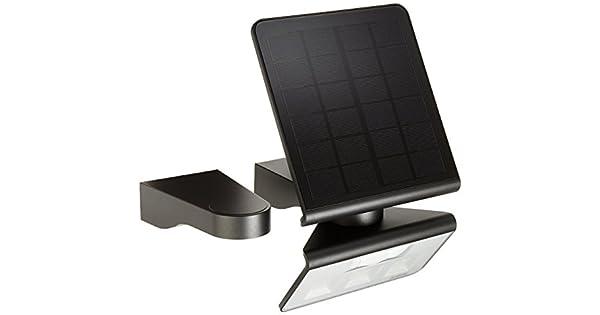 STEINEL Solar-duvar lambası Xsolar L-S antrasit, 140 ° hareket ...