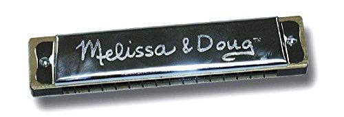 Little Folks Harmonica and Kazoo Bundle by Melissa and Doug plus FREE Bird Whistle by Toysmith
