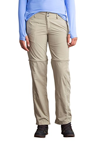 Surf Bug (ExOfficio Women's BugsAway Sol Cool Ampario Convertible Pant, Tawny, 8)