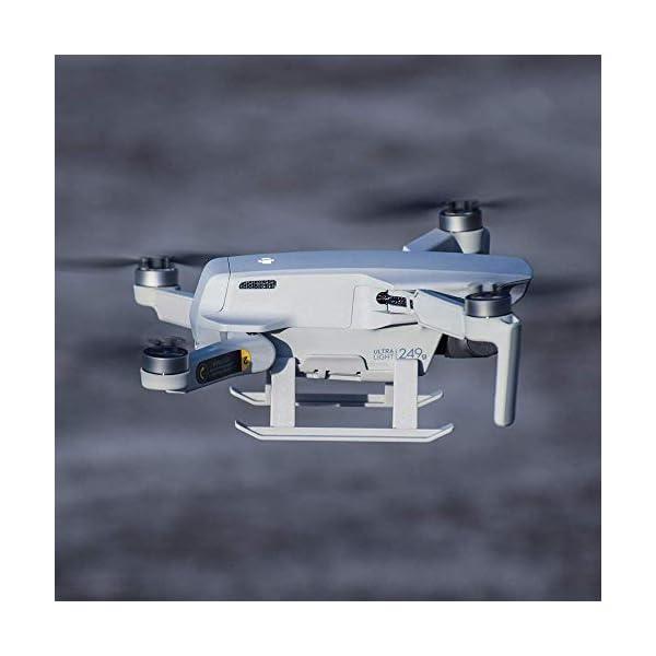 Linghuang Carrello di Atterraggio Esteso Proteggi Gambe Estensione per DJI Mavic Mini / Mini 2 Drone Accessori 7 spesavip