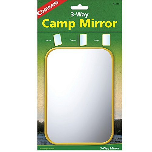 Coghlan's 3-Way Camp Mirror