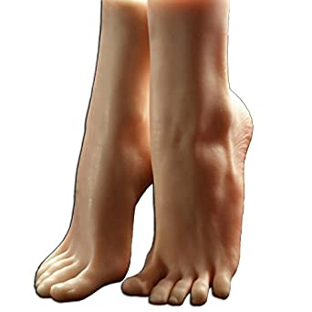 Amazon Com 1 Pair Silicone Lifesize Female Mannequin Foot Display