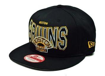 New Era 9fifty Snapback Strap Outter Boston Bruins Hat Cap NHL M L ... bfbb331c0508