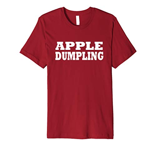 Apple Dumpling Food Halloween Last Minute Costume Party ()