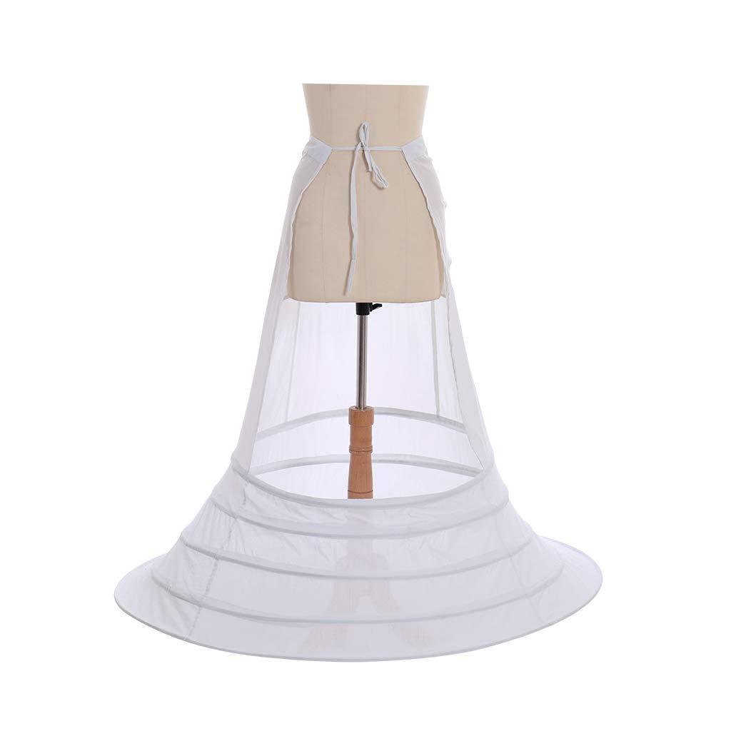 COUCOU Age Renaissance Unterrock Viktorianisch Petticoat Pannier Bustle K/äfig Krinoline Underskirt