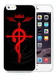 fullmetal alchemist 02 White iPhone 6S Plus 5.5 Inch TPU Phone case Stylish and Design