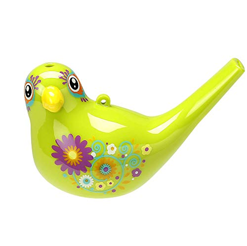 Comtrue 3103 Bird Whistle, Party Favors Kids, Birthday Gift,, Easter Gift, Bath Toy, Adorable, Durable, Non-Toxic, Kelly, Upgrade Version -