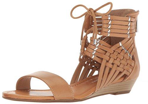 Jessica Simpson Women's Lourra Wedge Sandal, Buff, 10 Medium US JS-LOURRA
