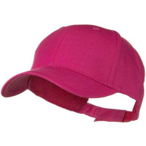 Otto Caps Solid Cotton Twill Low Profile Strap Cap - Hot - Caps Twill Cotton Otto