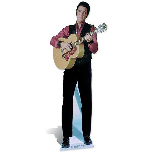 SC242 Elvis Presley Singing Cardboard Cutout Standup ()