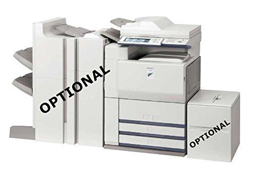 - Refurbished Sharp MX-620 Tabloid-size Monochrome Multifunction Printer - Copy, Print, Scan, 2 Trays, Cabinet, Auto Duplex, 62 ppm