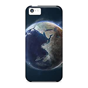 New Hard Cases Premium Iphone 5c Skin Cases Covers(earth)