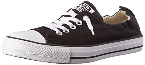 Converse Women's Chuck Taylor Shoreline Slip Casual Shoe, Black- 7.5 B(M) US (Best Shoes To Wear With Black Leggings)