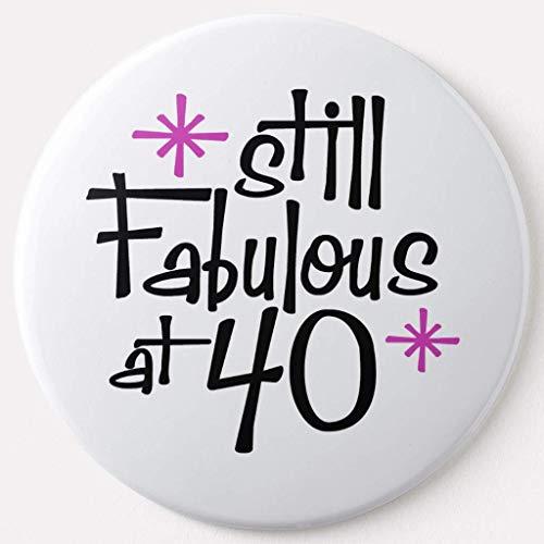 BGLKCS 40th Birthday Pinback Button