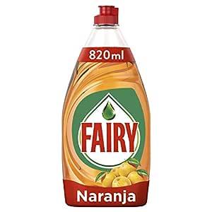 Fairy Ultra Líquido Lavadora Naranja Sin Remojo Ni Grasa - 820 ml ...
