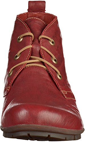 Rot zapatos Think cordones Mujer 81075 Rosso con 1 72 kombi CwqxTfn0qB
