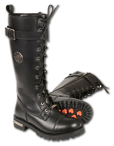 Mens Leather Boots With Buckles - 3