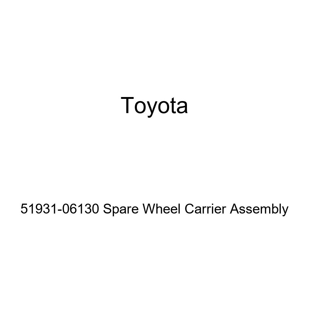 TOYOTA 51931-06130 Spare Wheel Carrier Assembly