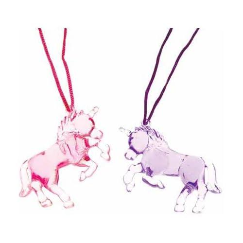 Unicorn Necklace 12 ct Necklaces (12 per package)