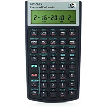 AmazonCom  Texas Instruments Ba Ii Plus Financial Calculator
