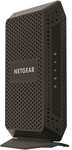 NETGEAR Cable Modem CM600 - Compatible with All Cable Providers Including Xfinity by Comcast, Spectrum, Cox | for Cable Plans Up to 400 Mbps | DOCSIS 3.0 (Best Modem Router For Comcast Blast)