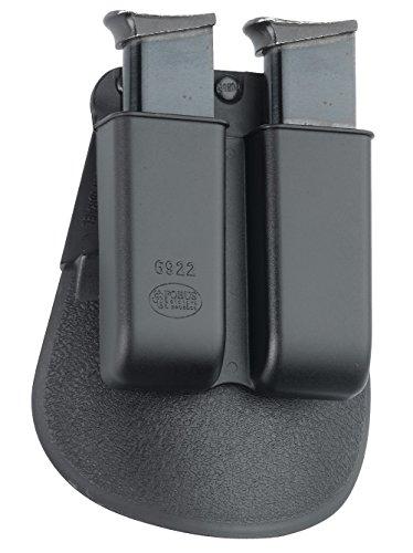 Fobus verdeckte Trage Sicherungs-Pistolenhalfter Halfter Holster + 6922 Doppel magazintasche für Walther PPS 9mm & .40cal