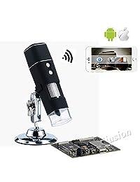 1000X Wireless Digital Microscopio Cámara Lupa 50x 1000x WiFi Lupa Microscopio WiFi para iOS Android