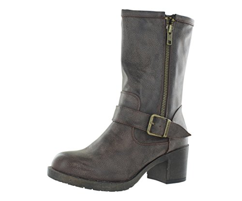 Rocket Dog Women's Hallie Galaxy Pu Boot, Brown, 6.5 M (Brown Calf Footwear)