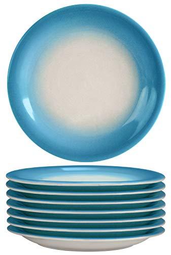 s 8-Piece Set Ceramic,Blue ()