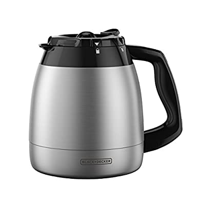 BLACK+DECKER TC1200B 12-Cup Replacement Carafe (Renewed)