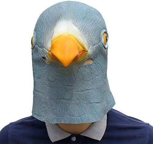 DOKJ Máscara de la Paloma, Hecha de látex Natural, máscara de ...