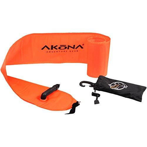 AKONA Hi-viz Safety Tube, Orange, 40-Inch