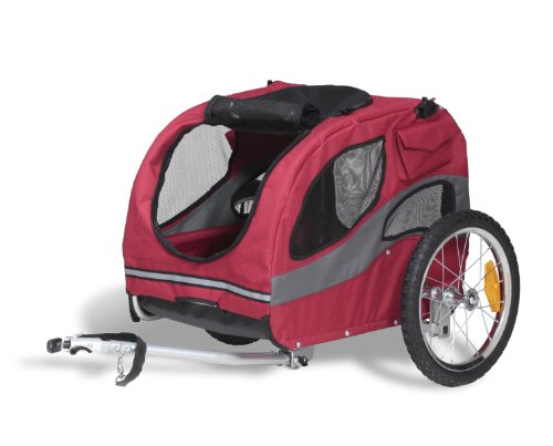 Solvite Solvit HoundAbout Pet Bicycle Trailer, Medium, St...