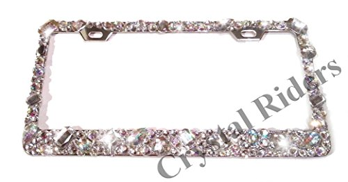license plate frames sparkly - 8