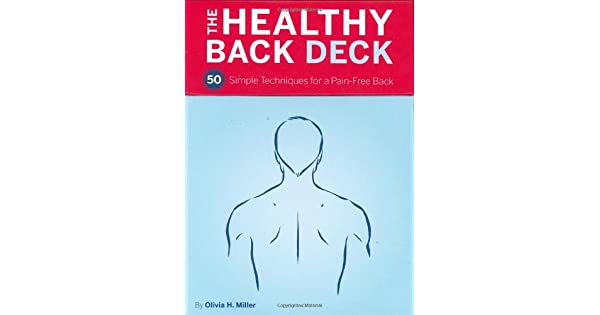 Amazon.com: Healthy Back Deck: 50 Simple Techniques for a ...