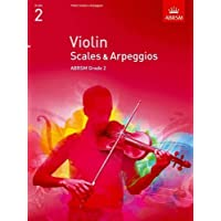 Violin Scales & Arpeggios, ABRSM Grade 2: from 2012