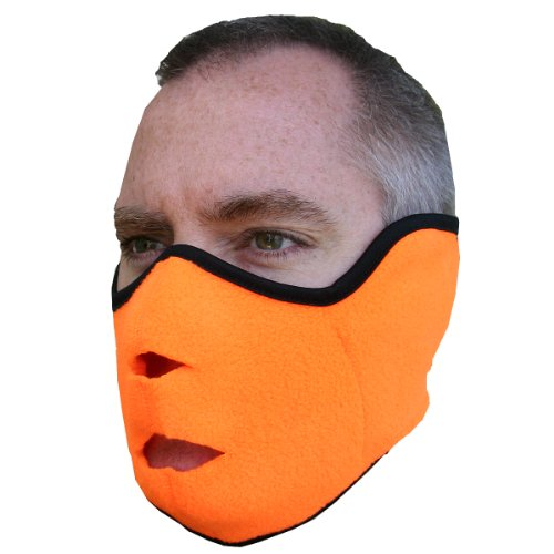 Heat Factory - Máscara de forro polar para uso con calentadores de manos