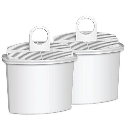 Waterdrop TÜV SÜD Certified KWF2 Coffee Water Filter, Compatible with Braun Brita KWF2 (Pack of 2)
