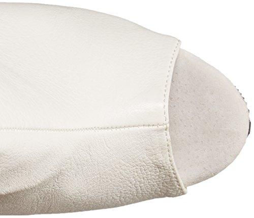 1019 Femmes Blc Blc Bottes Blanc Pleaser De Cuir Delight Les faux BxgqOZw