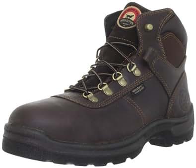 "Irish Setter Men's 83617 6"" Work Boot,Brown,7.5 D US"