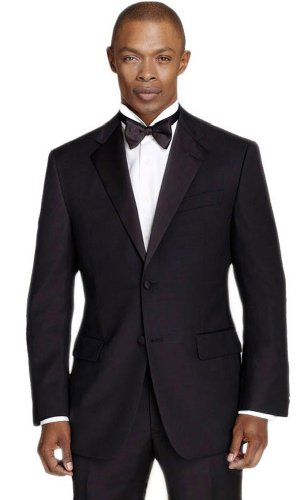 Men's Black Slim Fit Calvin Klein Tuxedo(38 Regular) by Calvin Klein