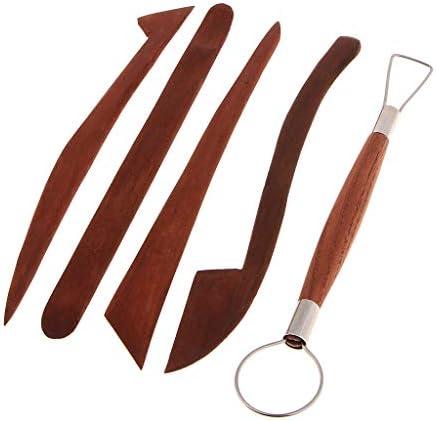 陶芸工具セット 粘土彫刻ツール 粘土細工道具 陶芸ツール DIY 手作り 彫刻用 軽量 持ちやすい 5本
