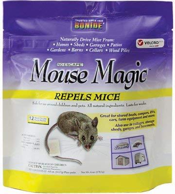 Bonide Products Mouse - Bonide Products 866 Mouse Magic Repellent, 12-Pk. - Quantity 6